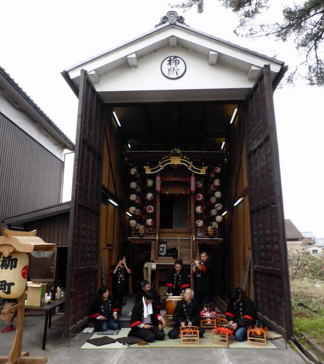 柳町の曳山6