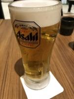 まずは生ビール170303