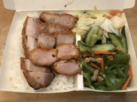叉燒燒肉飯170307