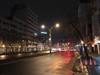 夜中の中山北路170307