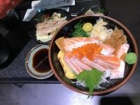 サーモンイクラ親子丼170311