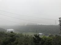 霧がすごい170313