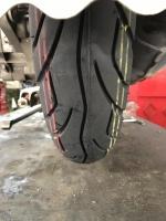 新品タイヤに交換170405