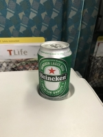 新幹線でまずはハイネケン170420