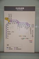 路線図現在位置A13機場第二航廈170404