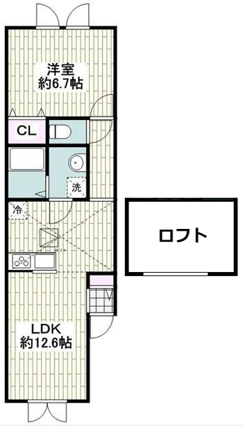 ■物件番号P5065 海まで徒歩3分のペット可輸入住宅!1LDK+ロフト!パークでサーフィン!8.1万円!