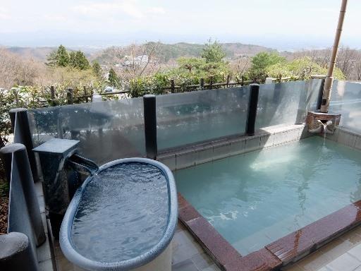 展望露天風呂と壺風呂