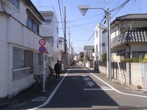 住宅街の風景(梅ヶ丘①)