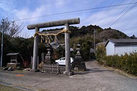 170222丸郷神社の神池⑩