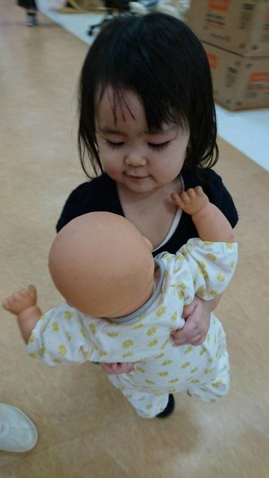 展示品の赤ちゃん4