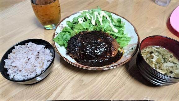 ハンバーグ ③
