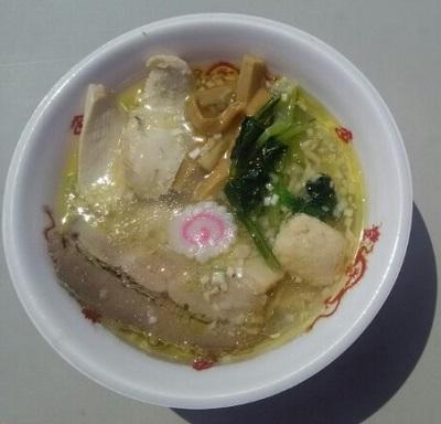 06塩鶏中華そばの若武者(福島)