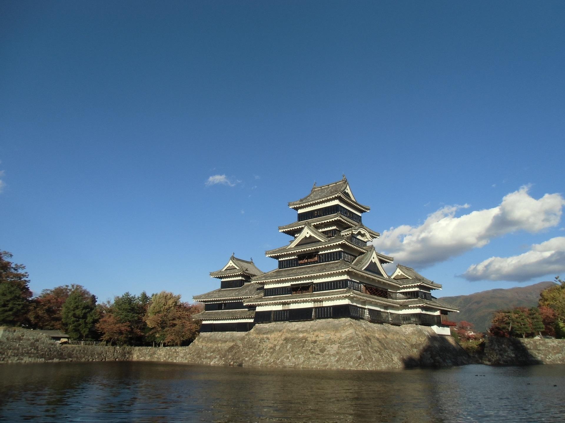 松本城、国宝
