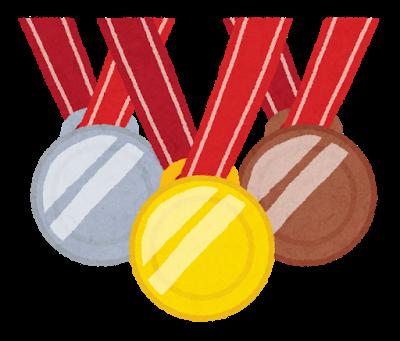 オリンピック、メダル、金銀銅
