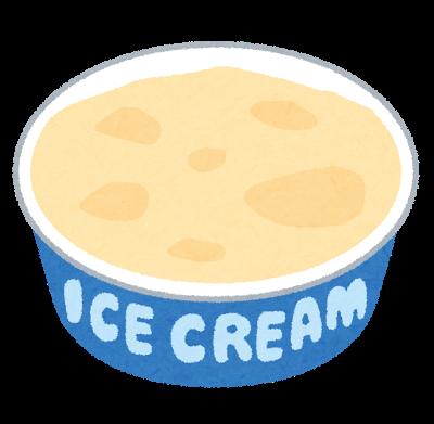 スイーツ、アイスクリーム、カップ