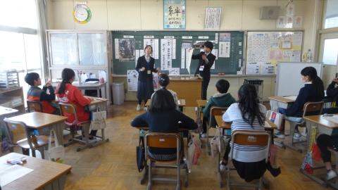 「石岡ふるさと学習授業公開参観」④