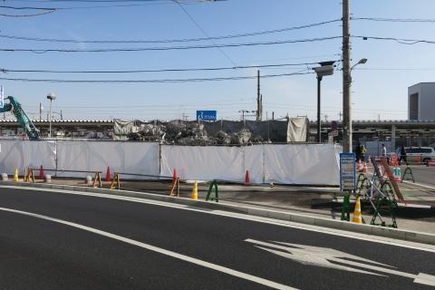 「石岡駅前交番が解体されました!」②