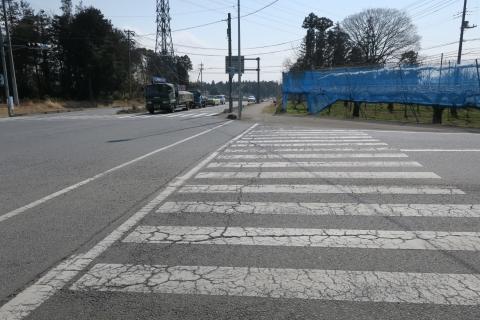 「根当・半の木地区交差点ライン問題」⑧1