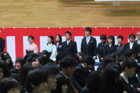 「石岡第二高等学校卒業証書授与式」⑥2