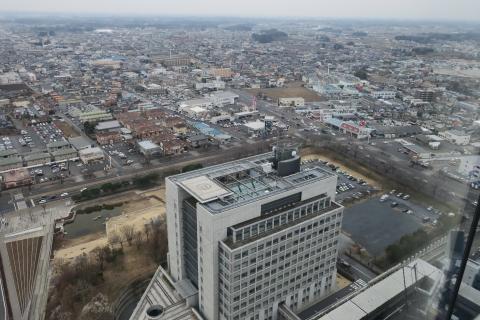 「茨城県庁の最上階に行ってみました!」⑧