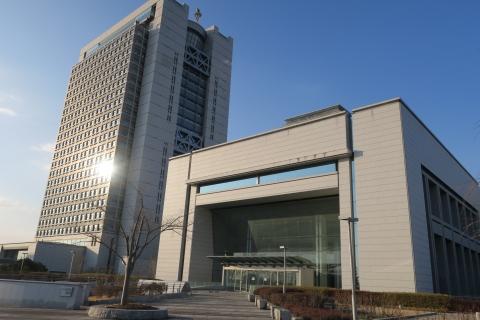 「茨城県議会議事堂&茨城県庁」 (2)