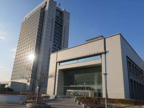 1「茨城県議会議事堂&茨城県庁」 (2)