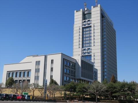 1「茨城県議会議事堂&茨城県庁」