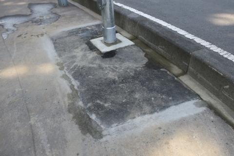 「行里川交差点にLED照明が付きました!」⑥