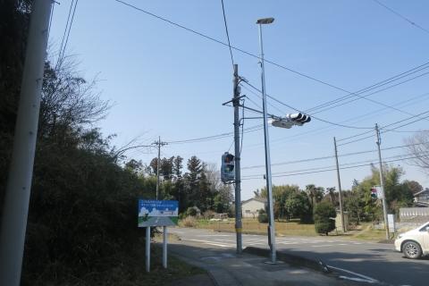 「行里川交差点にLED照明が付きました!」⑨