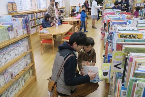 「祝こども図書館本の森」開館記念式典 (5)
