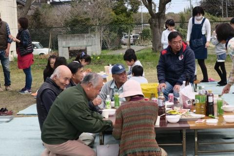 「村上地区花見会&ビンゴ大会」⑩