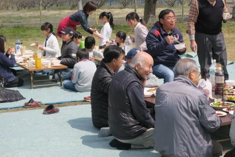 「村上地区花見会&ビンゴ大会」⑭