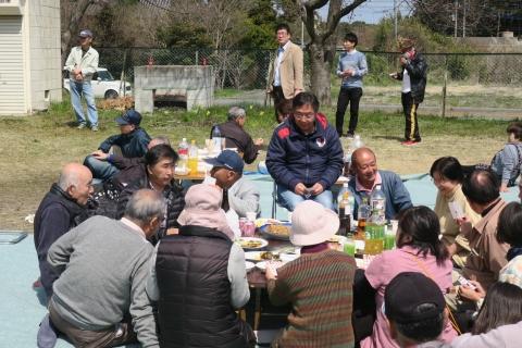 「村上地区花見会&ビンゴ大会」⑮