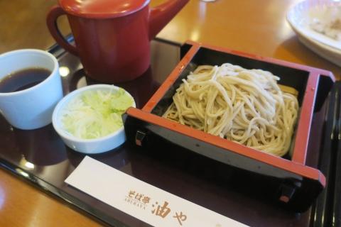 「長野市手打ち蕎麦 油や」①
