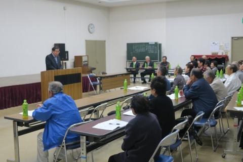 「平成29年度石岡市ゲートボール協会総会」④