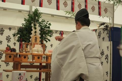 「石岡市新庁舎建設工事安全祈願祭」⑦