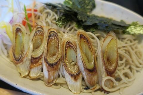 「一成 焼きネギ蕎麦」②
