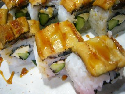 穴子押し寿司1