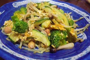 マメと野菜