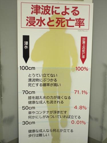 500津波と致死率1