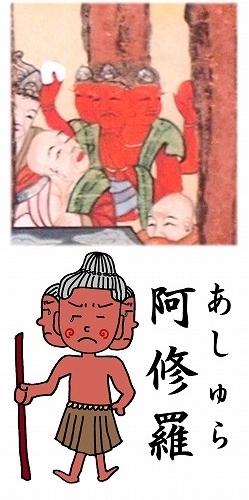 500子供坐禅会 法話 涅槃図  帝釈天6