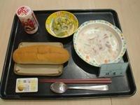 朝食クラムチャウダー (2)