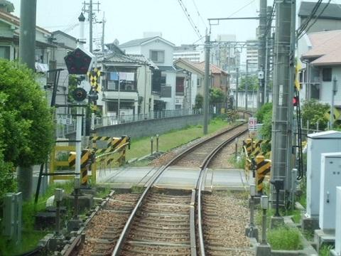 武庫川線車窓