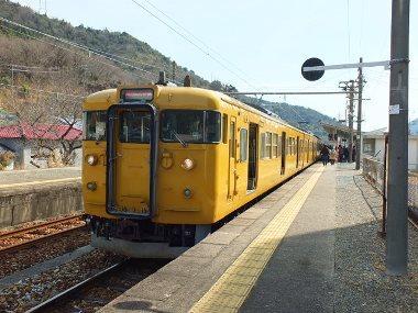 4赤穂線日生駅0318