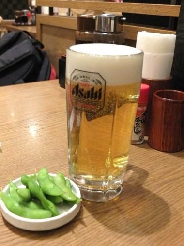 4ビール&枝豆0321
