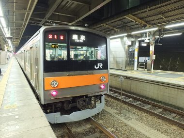 4武蔵野線始発電車0408