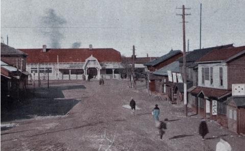旧滝川駅駅舎