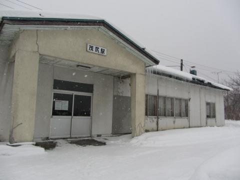 茂尻駅02