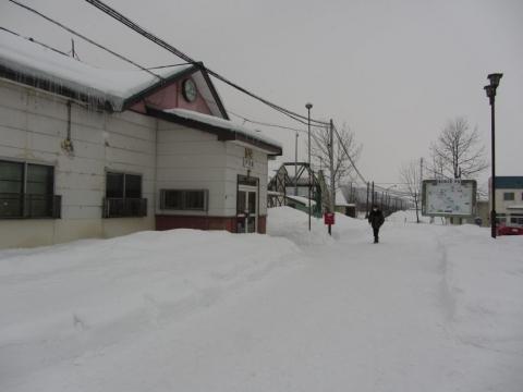 芦別駅駅舎