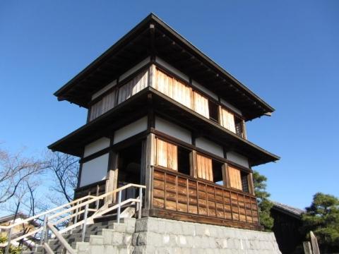 田中城本丸櫓